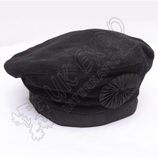 Cawbain hats Plain Black Color
