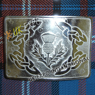 Celtic and Thistle Buckle