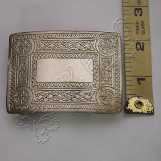 Celtic Design Antique Baby Scottish Buckle