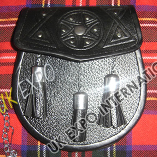 Celtic Embossed Sporran Metal Cups