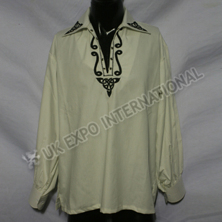 Celtic Embroidery Jacobite Shirts