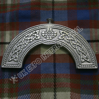Celtic knot beautiful Chrome High Quality cantle