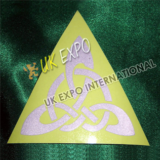 Celtic Knot Reflected Sticker