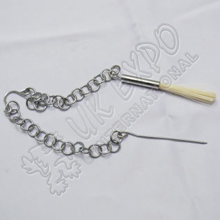 Chain brush spike for Gun