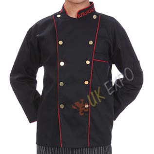 Chef Dress Black Color
