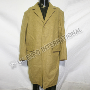 Civil War Long Coat Khaki Color