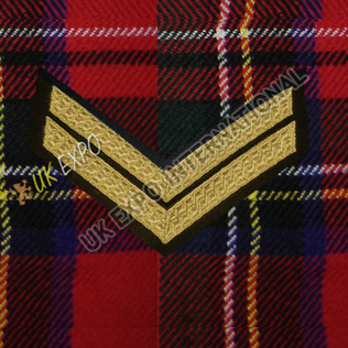 Corporal 2 Stripe Gold Braid