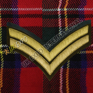 Corporal 2 Stripe Gold Bullion