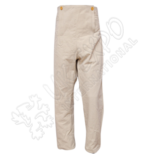 Cream Color Canvas Civil War Trouser
