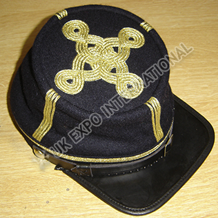 CS Colonel or Generals Embroidered Kepi
