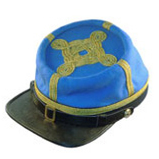 CS Major or Lt Colonels Embroidered Kepi
