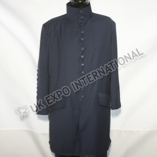 Dark Blue Long Coat