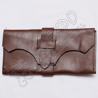 Dark Brown Real Leather replica wallet military or civilian use