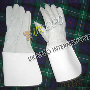 Drum Major Glove All Over Real Leather