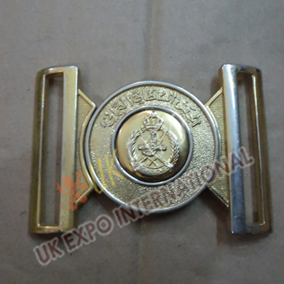 Dubai Police Belt Buckle Gold