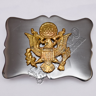 Eagel Gold Police Buckle