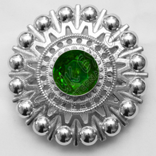 Emerald Ston Brooche