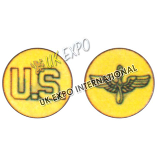 Enlisted Mens Collar Badges- U S A A F