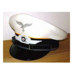 Enlisted White Top Visor Cap