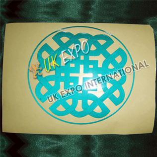 Eternity Knot Reflected Sticker