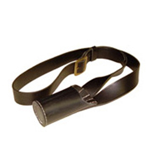 Flag Pole Support Belt Black
