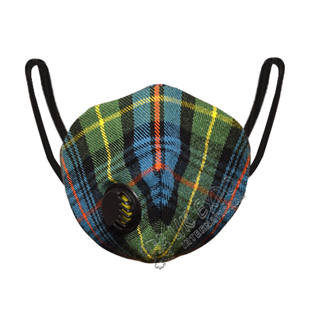 Flower of Scotland Tartan Scottish Filter Mask