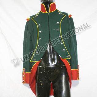 French Coat Dark Green Main Body