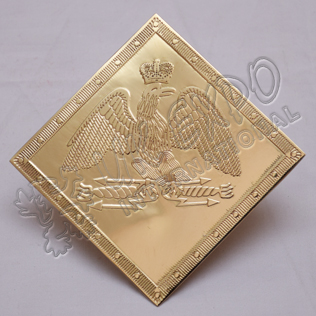 French grenadier shako plate hussars regiment 1804