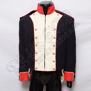 French Habit Coat 1808 Dark Blue