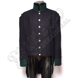 French Habit Coat Dark Blue Color