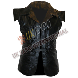 GENUINE LEATHER Jacobite Clansman Vest