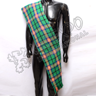 Glasgow Commonwealth Games Tartan Ladies Sash