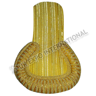 Gold Bullion Shoulders/Epaulette with Braid