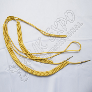 Gold Myer Silk Shoulder cord
