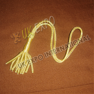 Gold sword Knot