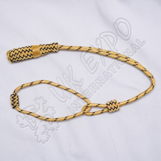 Golden and Black Sword Knots