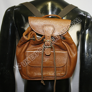 Golden Brown Color Bag