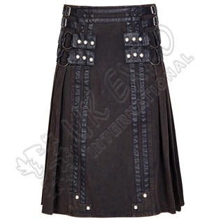 Roman Soldiers Snap and zipper closing Utility kilts