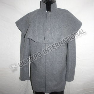 Gray Color Great Coat