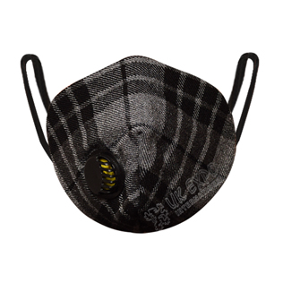 Grey Watch Tartan Scottish Filter Mask