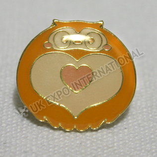 Heart Shape Enamel Pin