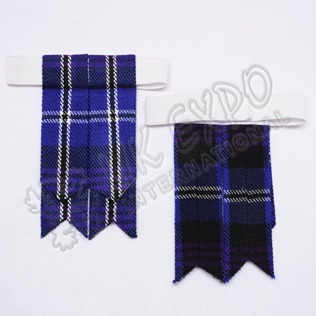 Heritage Of Scotland Tartan Kilt Hose Flashes