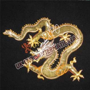 Hong Kong Dragon Embroidery