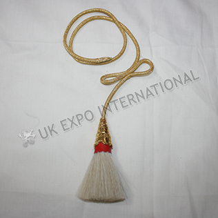 Horse hair sporrans Gold tessal for regimental Sporrans