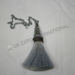 Horse hair sporrans tessal for regimental Sporrans Chrome