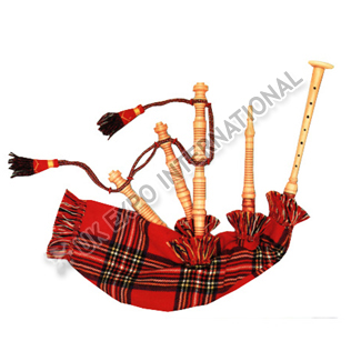 Irish Model Toy Dummy Bagpipe In Cocus Wood