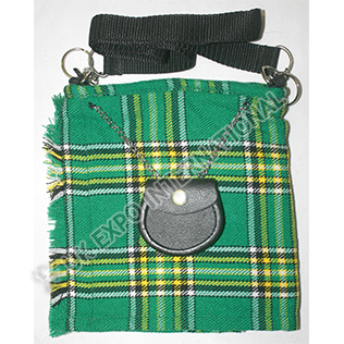 Irish National Tartan Kilt Bag