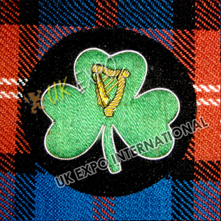 Irish Shamrock Badge