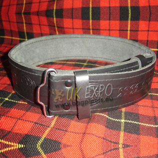Kilt Belt Embossed without backing