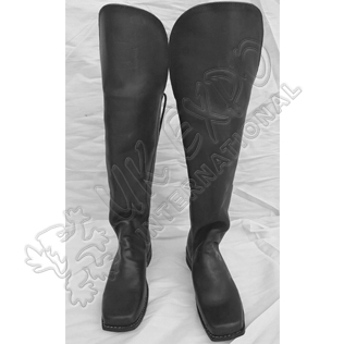 Knee Flap Boots Civil War Hand Made Original Leather Tall Boots